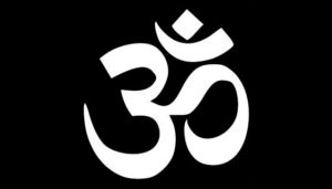 The Hindu symbol for 'Dharma'